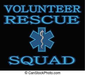 Escuadrón de rescate voluntario