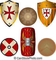 Escudos de la Edad Media