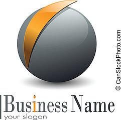 Esfera de Logo 3D
