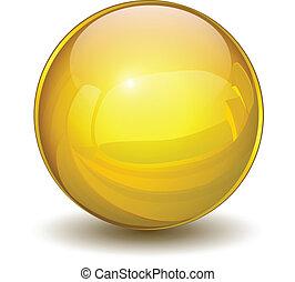 Esfera de oro