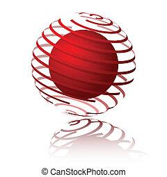 Esfera espiral