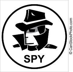 espía, agente