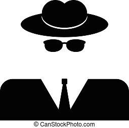 espía, icono