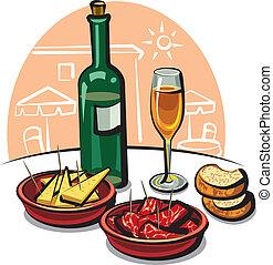 español, aperitivos