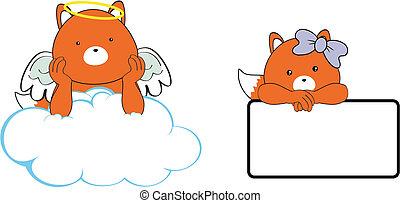 Espacio de dibujos animados de Fox Angel