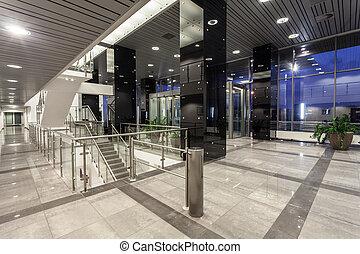 Espacio edificio moderno