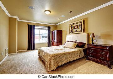 Espacio interior de dormitorio principal