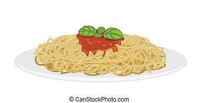 espaguetis, delicioso