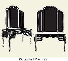 Espejos antigóticos
