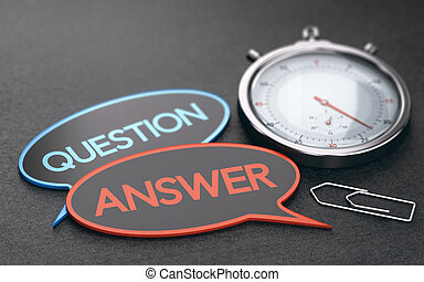 Espera el concepto del tiempo, servicio al cliente efectivo.