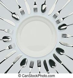 Esperando la cena
