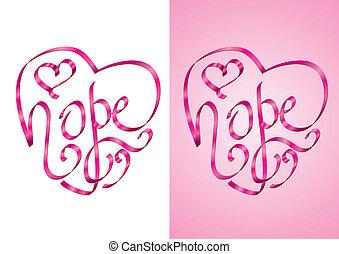 Esperanza: conciencia del cáncer de mama