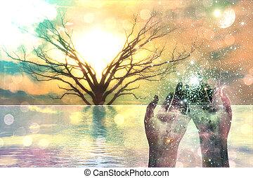 espiritual, composición