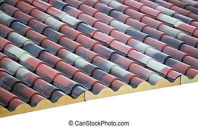 Espuma de poliuretano prefabricado en el techo