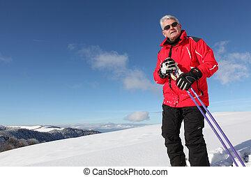Esquí de último año