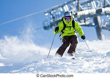 Esquí fuera de juego
