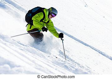 Esquiar fuera de juego