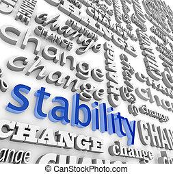 estabilidad, descubrimiento, midst, cambio