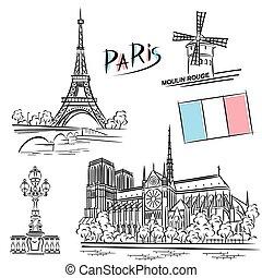 Establece puntos de referencia de París