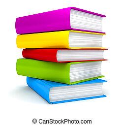 Estaca de Libros en blanco