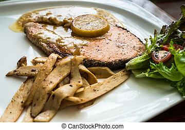 Estaca de salmón