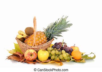 estacional, fruta fresca