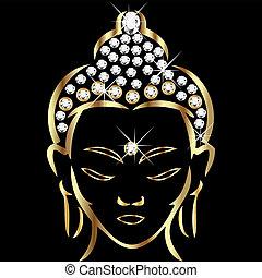 Estado de Buddha de oro