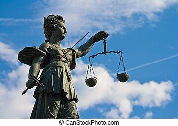 Estado de justicia en Frankfurt, Alemania