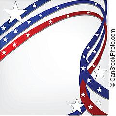 estados unidos de américa, independencia, plano de fondo, día