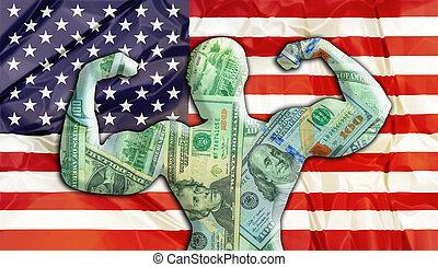 Estados Unidos es un dólar fuerte