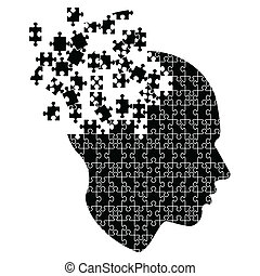 estallar, mente, ideas