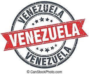 Estampado de cinta vintage de Venezuela