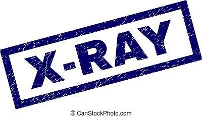 Estampado de grunge X-RAY