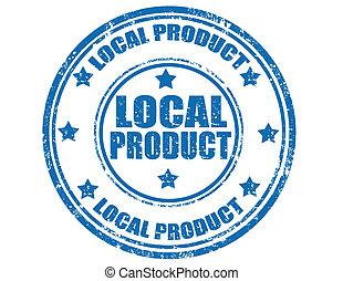 Estampado de productos locales
