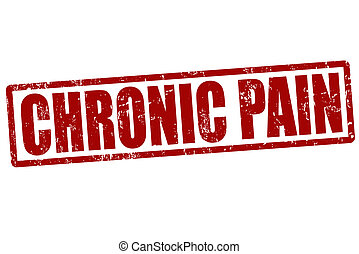 estampilla, crónico, dolor
