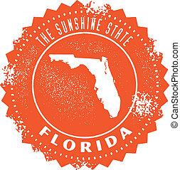 Estampilla de Florida