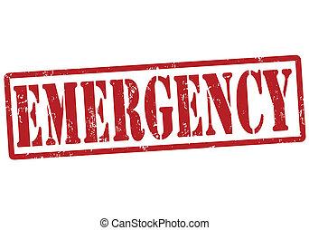 estampilla, emergencia