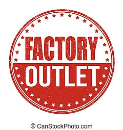 estampilla, fábrica, salida
