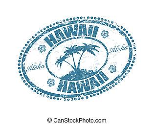 estampilla, hawai