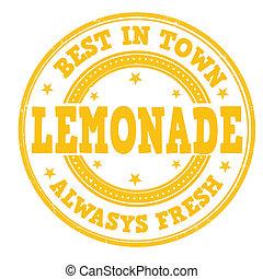 estampilla, limonada