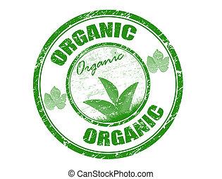 Estampilla orgánica