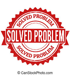 estampilla, solucionado, problema