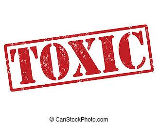 Estampilla tóxica