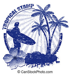 Estampilla tropical