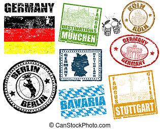 Estampillas con Alemania
