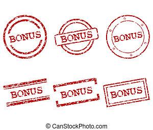 Estampillas de bonus