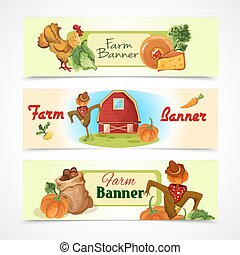 Estandartes de granja