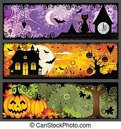 Estandartes de Halloween