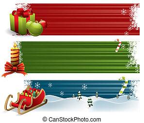 Estandartes de Navidad