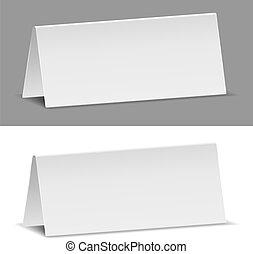 Estandartes de papel